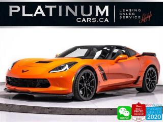 Used 2019 Chevrolet Corvette Grand Sport, 460HP, MANUAL, CARBON FIBER EXT, CAT for sale in Toronto, ON