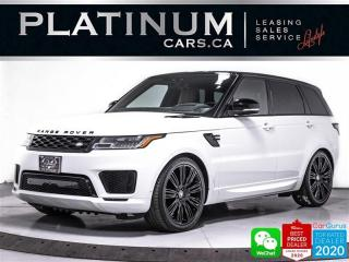 Used 2018 Land Rover Range Rover Sport Supercharged, 518HP, DYNAMIC PKG, NAV, 360CAM, BT for sale in Toronto, ON