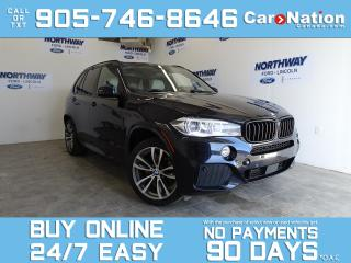 Used 2016 BMW X5 35I | M PKG |XDRIVE |BRAND NEW TIRES | ROOF | NAV for sale in Brantford, ON