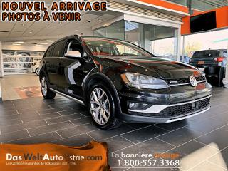 Used 2017 Volkswagen Golf Alltrack Cuir, Toit, Automatique for sale in Sherbrooke, QC