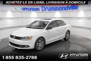 Used 2013 Volkswagen Jetta HIGHLINE + GARANTIE + NAVI + TOIT + WOW for sale in Drummondville, QC
