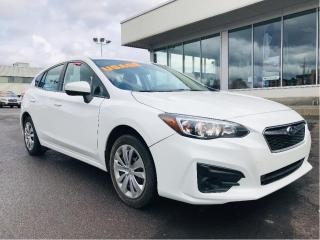 Used 2018 Subaru Impreza 2.0i Convenience 5-door Manual,camera de recul for sale in Lévis, QC