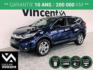 Used 2018 Honda CR-V EX AWD ** GARANTIE 10 ANS ** BIen équipé, fiable et sécuritaire! for sale in Shawinigan, QC