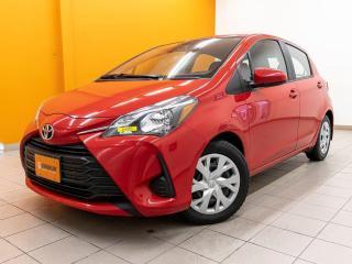Used 2019 Toyota Yaris LE CAMÉRA SIÈGES CHAUFFANTS *ALERTES CHANG. VOIE* for sale in St-Jérôme, QC