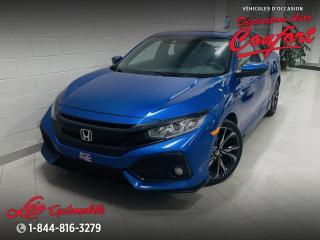 Used 2017 Honda Civic Sport Honda Sensing 5 portes CVT for sale in Chicoutimi, QC