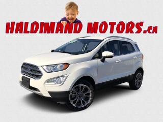 Used 2020 Ford EcoSport Titanium 4WD for sale in Cayuga, ON