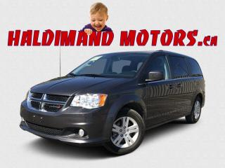 Used 2020 Dodge Grand Caravan Crew Plus for sale in Cayuga, ON