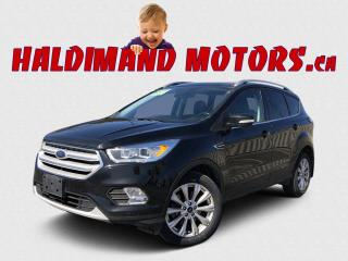 Used 2018 Ford Escape Titanium 4WD for sale in Cayuga, ON