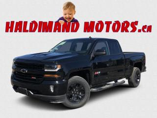 Used 2017 Chevrolet Silverado 1500 LT DBLE CAB Z71 4WD for sale in Cayuga, ON