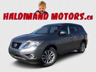 Used 2016 Nissan Pathfinder SL Platinum 4WD for sale in Cayuga, ON