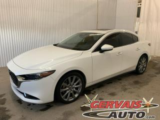 Used 2019 Mazda MAZDA3 GT AWD Cuir GPS Toit Ouvrant Caméra Mags *Traction intégrale* for sale in Trois-Rivières, QC
