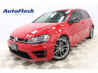 Used 2017 Volkswagen Golf R 4MOTION *292hp! *TECH-PKG *GPS/CAMERA for sale in St-Hubert, QC