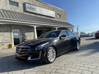 Used 2014 Cadillac CTS Luxe 2 L Turbo berline 4 portes TI for sale in St-Eustache, QC