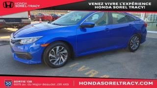 Used 2016 Honda Civic EX 4 portes CVT for sale in Sorel-Tracy, QC