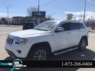 Used 2016 Jeep Grand Cherokee 4x4, Limited for sale in Shawinigan, QC