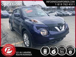 Used 2016 Nissan Juke SV (frais vip 395$ non inclus) for sale in Rouyn-Noranda, QC