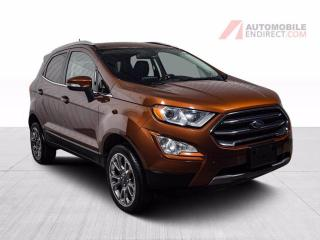 Used 2019 Ford EcoSport TITANIUM AWD CUIR TOIT GPS CAMERA DE RECUL for sale in Île-Perrot, QC