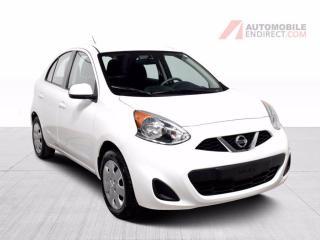 Used 2016 Nissan Micra SV Auto A/C Bluetooth Régulateur de Vitesse for sale in Île-Perrot, QC