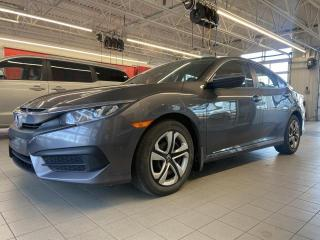 Used 2017 Honda Civic *LX*BLUETOOTH*CAMERA*CRUZE*A/C* for sale in Québec, QC