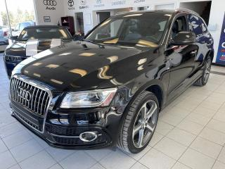 Used 2016 Audi Q5 3.0 T / TECHNIK / QUATTRO / TOIT PANORAM for sale in Sherbrooke, QC
