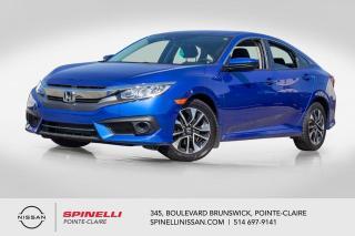Used 2017 Honda Civic EX SIEGES CHAUFFANTS / CAMERA DE RECUL / ÉCRAN TACTILE for sale in Montréal, QC