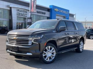 New 2021 Chevrolet Suburban High Country for sale in Brampton, ON