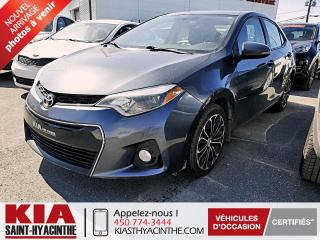 Used 2016 Toyota Corolla S ** TOIT OUVRANT / CUIR for sale in St-Hyacinthe, QC