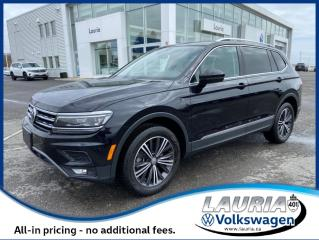 Used 2019 Volkswagen Tiguan 2.0T Highline 4Motion AWD - ULTRA LOW KMS for sale in PORT HOPE, ON