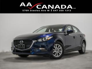 Used 2018 Mazda MAZDA3 SE|LOW KMS|BACK UP CAM|BLUETOOTH|HEATED SEATS for sale in North York, ON