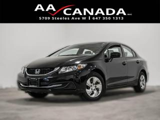 Used 2014 Honda Civic ACCIDENT FREE | CLEAN CARFAX| LOW KMS for sale in North York, ON