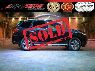 Used 2017 Nissan Pathfinder SL 4WD - S.Roof, Nav, 360 Camera, Tow Pkg !! for sale in Winnipeg, MB