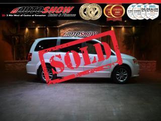 Used 2015 Dodge Grand Caravan SE - DVD, Nav, Pwr Sliders, Lthr Seats, R.Start !! for sale in Winnipeg, MB