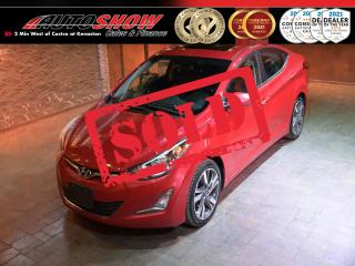 Used 2016 Hyundai Elantra GL Sport Appearance - S.Roof, Backup Cam, Htd Seats !! for sale in Winnipeg, MB