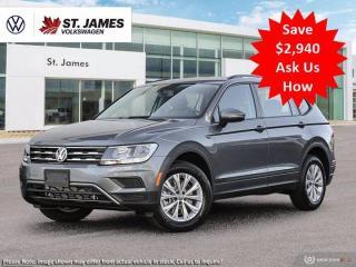 New 2021 Volkswagen Tiguan Trendline for sale in Winnipeg, MB