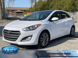 Used 2016 Hyundai Elantra GT Limited/LOW, LOW KMS/LEATHER/NAV/PANORAMIC for sale in Brantford, ON