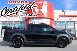 Used 2019 Honda Ridgeline Black Edition - HONDA CERTIFIED - RATES STARTING @ 3.69% - for sale in Sudbury, ON