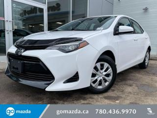 Used 2018 Toyota Corolla CE - CLOTH, AUTO, BLUETOOTH, AND MUCH MORE for sale in Edmonton, AB