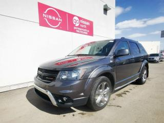 Used 2016 Dodge Journey CROSSROAD/AWD/V6/8.4 TOUCH SCREEN/LEATHER/POWER SEATS for sale in Edmonton, AB