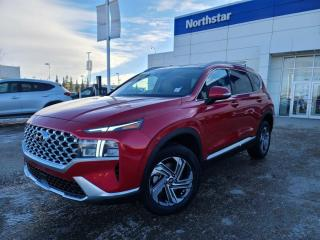New 2021 Hyundai Santa Fe PREFERRED: WIRELESS APPLE CARPLAY/SAFETY PKG/HEATED SEATS/BACK UP CAMERA for sale in Edmonton, AB