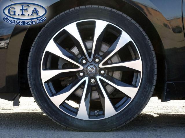 2016 Nissan Maxima SR REARVIEW CAMERA, LEATHER & CLOTH SEATS, NAVI