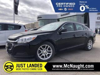 Used 2016 Chevrolet Malibu Limited LT | Navigation | Bluetooth | for sale in Winnipeg, MB