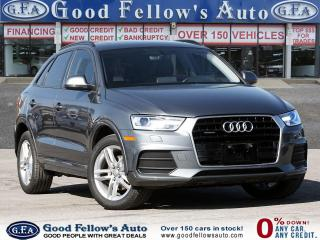 Used 2017 Audi Q3 KOMFORT, QUATTRO, LEATHER SEATS, POWER SUNROOF for sale in Toronto, ON