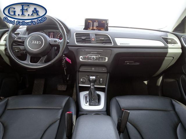 2017 Audi Q3 KOMFORT, QUATTRO, LEATHER SEATS, POWER SUNROOF