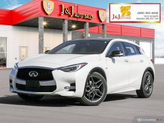Used 2017 Infiniti QX30 Sport Fully Loaded, Nice little SUV,Glass roof for sale in Brandon, MB