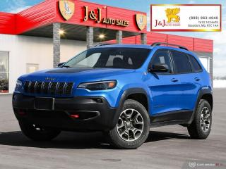 Used 2020 Jeep Cherokee Trailhawk 4WD,Leather,V6 for sale in Brandon, MB