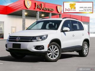 Used 2017 Volkswagen Tiguan Wolfsburg Edition Fully Loaded, Nice little SUV,AWD for sale in Brandon, MB