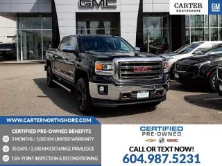 Used 2014 GMC Sierra 1500 SLT NAVIGATION - MOONROOF - LEATHER for sale in North Vancouver, BC