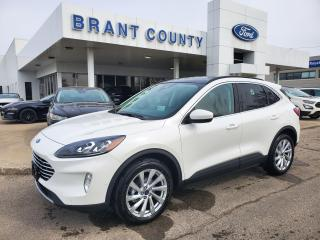 New 2021 Ford Escape Titanium Hybrid for sale in Brantford, ON