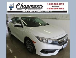Used 2017 Honda Civic EX Heated Seats, Bluetooth, Back-Up Camera for sale in Killarney, MB