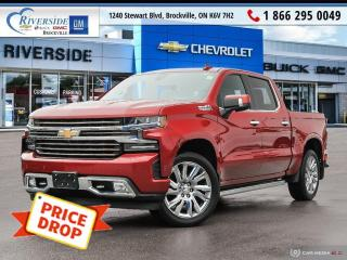 Used 2019 Chevrolet Silverado 1500 High Country for sale in Brockville, ON